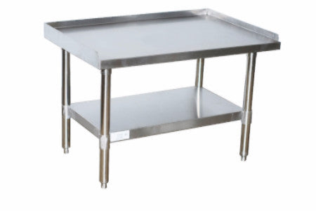"Deluxe Equipment Stand Size   72"" W x 24"" D x 24"" H with 6 Legs"