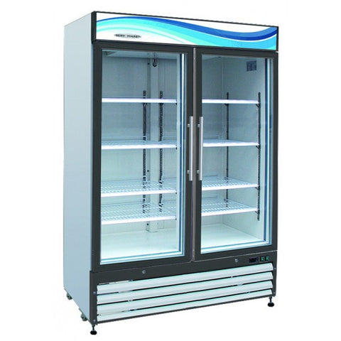 Glass Door Reach-35 / 35 cu. ft. 2 Door Refrigerator