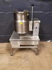 Used-Cleveland KET-6-T 6 Gallon Tilting 2/3 Steam Jacketed Electric Kettle-buyREL