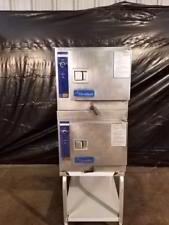 Used-Cleveland 22CET3 Double Stack Electric 3 Pan Steamer (6 total)-buyREL