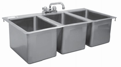 Drop In Sinks-3C1014-CWP