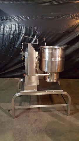 Used-Groen TDH-40 Gas 40 Qt. Steam Kettle w/ Stand-buyREL