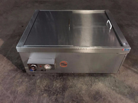 Used-Alto Shaam Halo Heat Sliding Top Warmer-buyREL