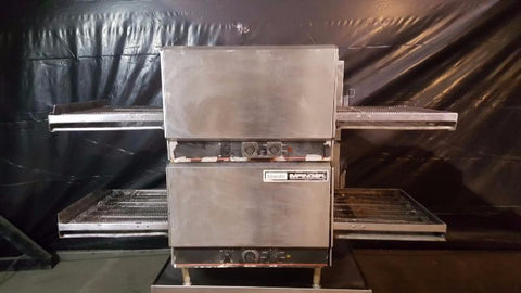 Used-Lincoln 1302-4/1301 Double Stack Countertop Impinger Conveyor Oven-buyREL