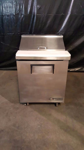 "Used-True TSSU-27-08 27"" One Door Sandwich/Salad Prep Refrigerator-buyREL"