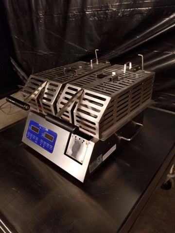 Used-Prince Castle CG14G-2TP Split Lid Contact Panini Grill-buyREL