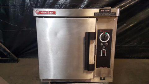Used-Market Forge ST-5E Electric 5 Pan Steamer-buyREL