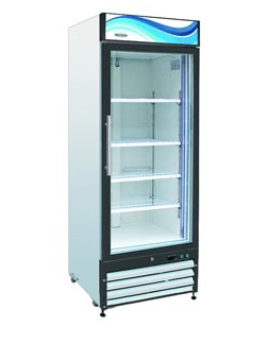 Glass Door Reach-23 / 23 cu. ft. 1 Door Refrigerator