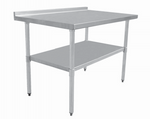 "Stainless Steel Work Table Size (D*W) 30"" x 48"""