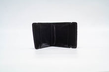 Load image into Gallery viewer, Cash Cover- Bison (Black) With Hornback (Black & White) Inlay