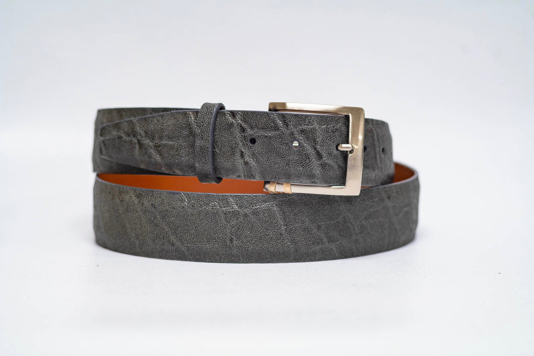 Grey Elephant 40MM Belt - No Stitch and Grey Edge