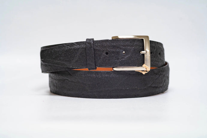 Black Elephant 40MM Belt - No Stitch and Black Edge
