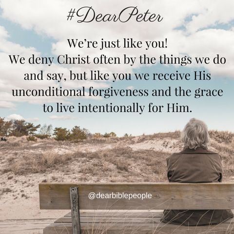 #DearPeter, His grace is sufficient for us!