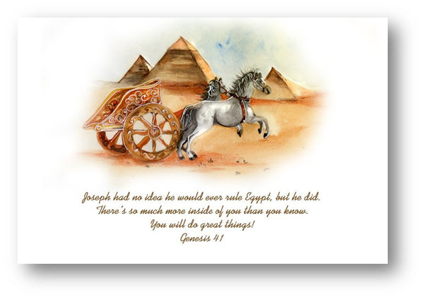 Joseph Encouragement Card
