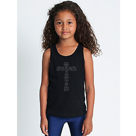 ACW cotton tank top for girls