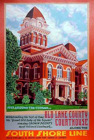 Old Lake County Courthouse
