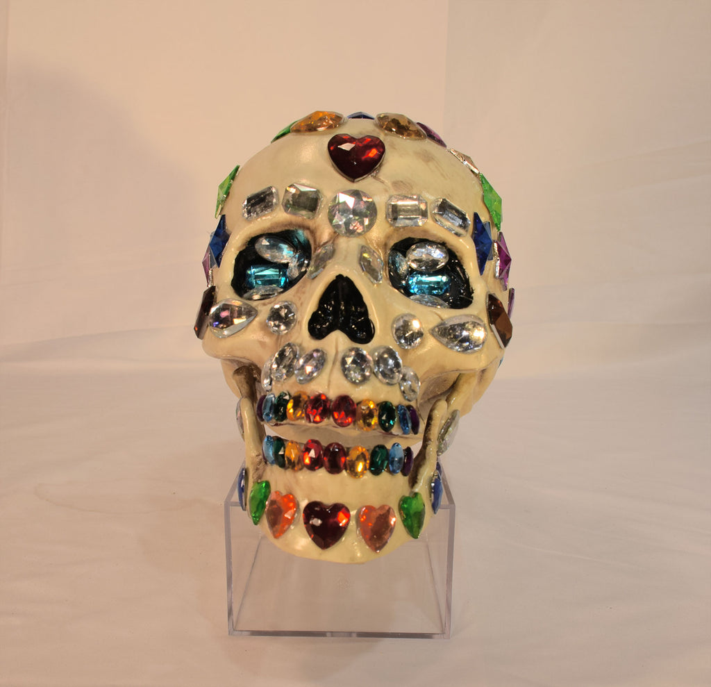 Day of the Dead Heads - Gay Skull