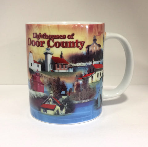 Lighthouses of Door County Mug