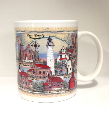 Lights of Door County Mug