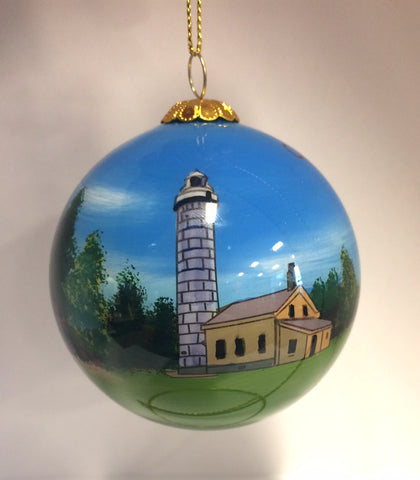 Cana Island Hand-painted Ornament
