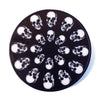 Skulls Medallion/Coaster
