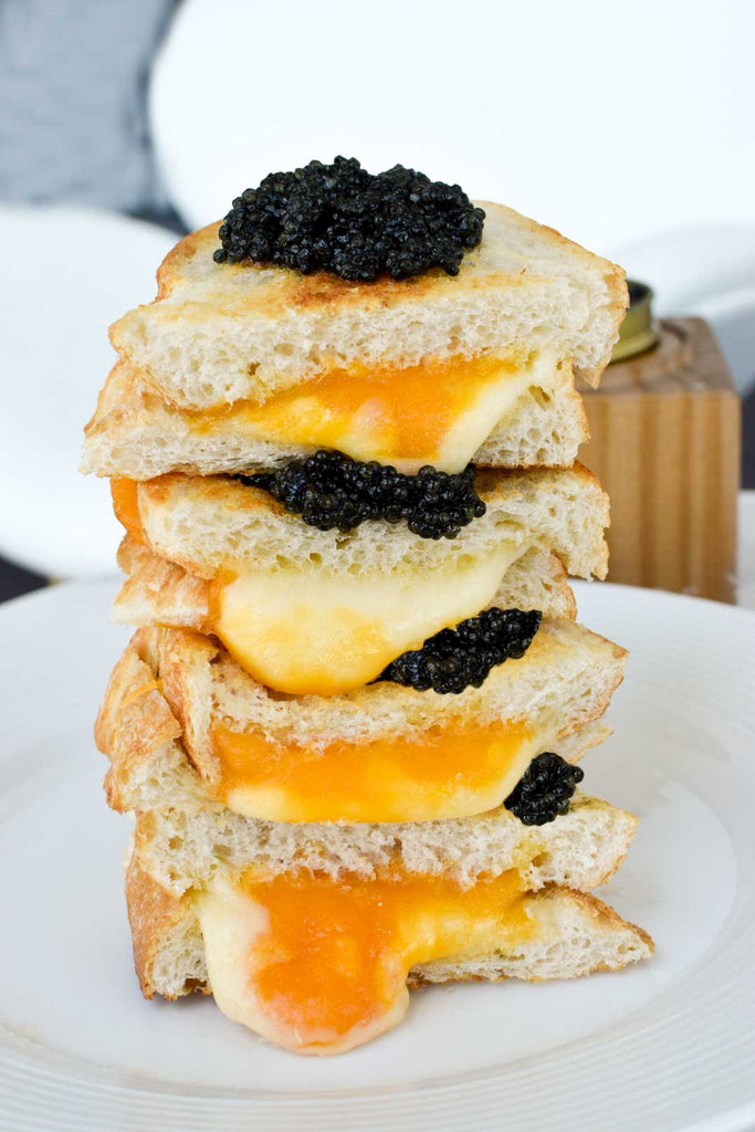 Caviar Grilled Cheese