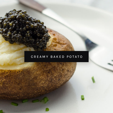 Caviar Baked Potato by ROE Caviar