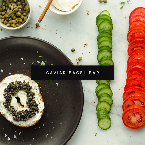 Caviar Bagel Bar by ROE Caviar