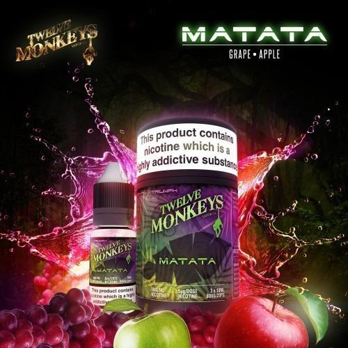 Twelve Monkeys E juice Twelve Monkeys Matata 3x10ml