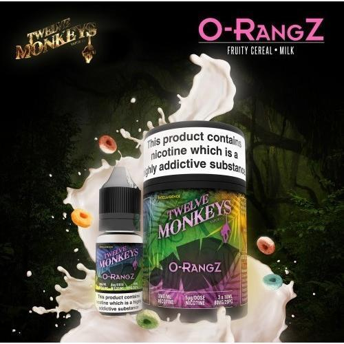 Twelve Monkeys E juice Twelve Monkeys O-Rangz 30ml / 3x10ml