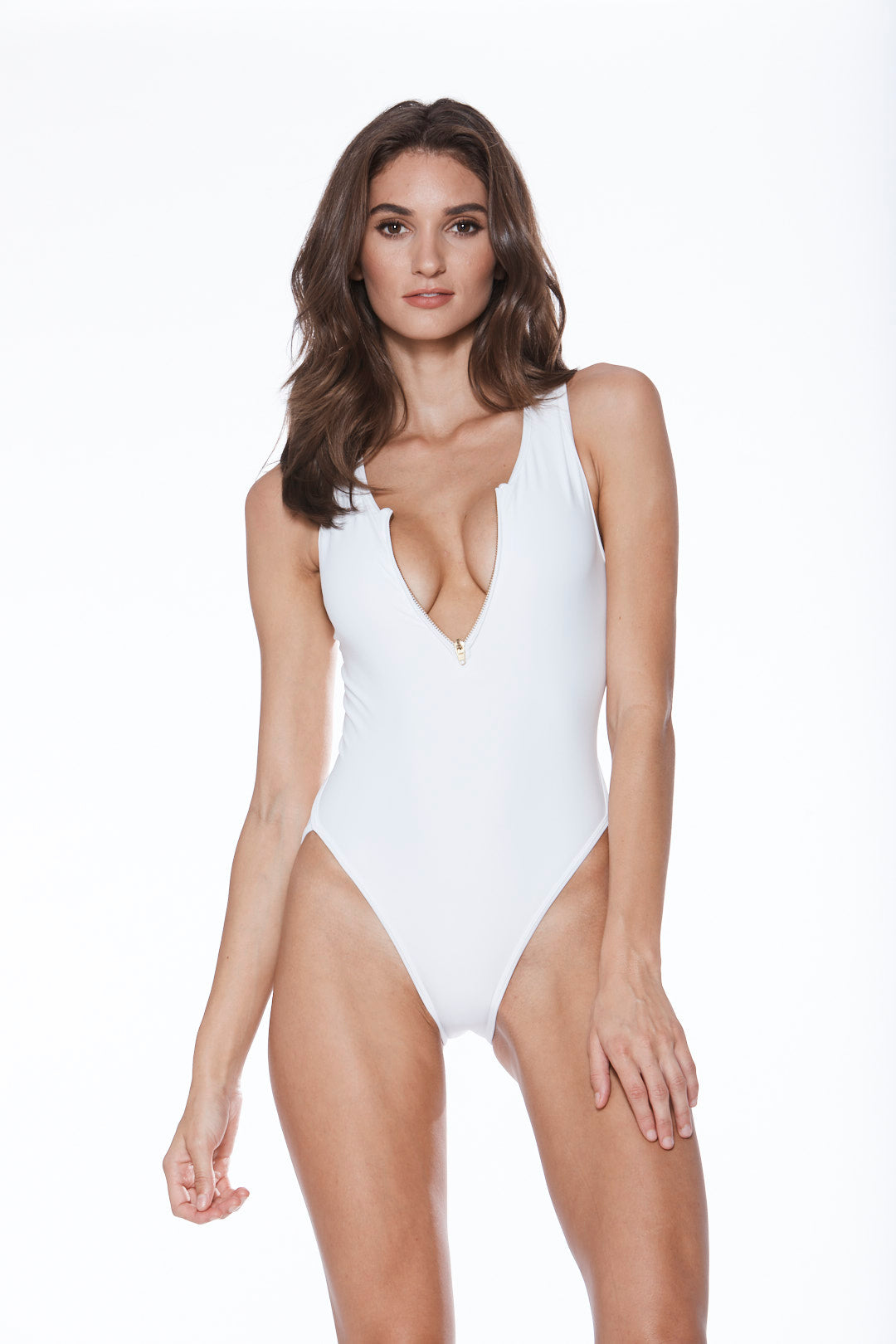 Baywatch One Piece - White