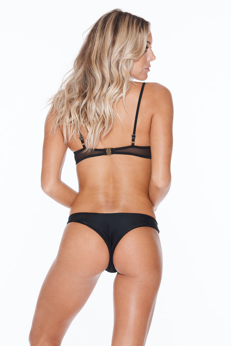 Hot Mesh Bottom - Black