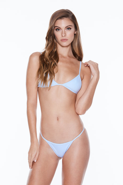 Low Tide Top - Azure Rib