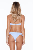 Peachy Keen Top - Blue Heaven Rib