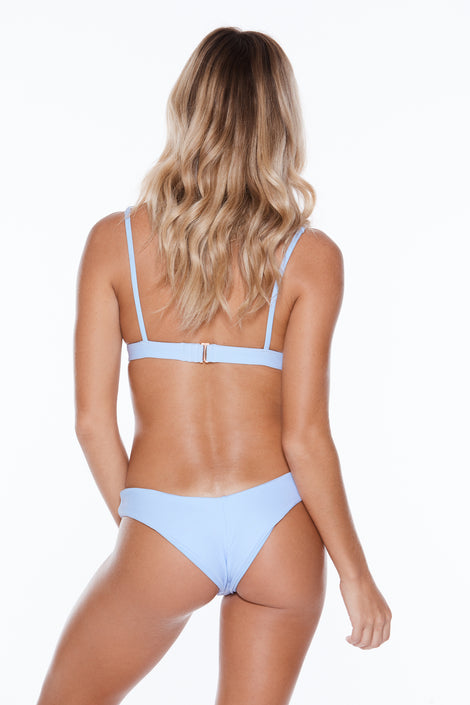 Low Tide Top - Blue Heaven Rib
