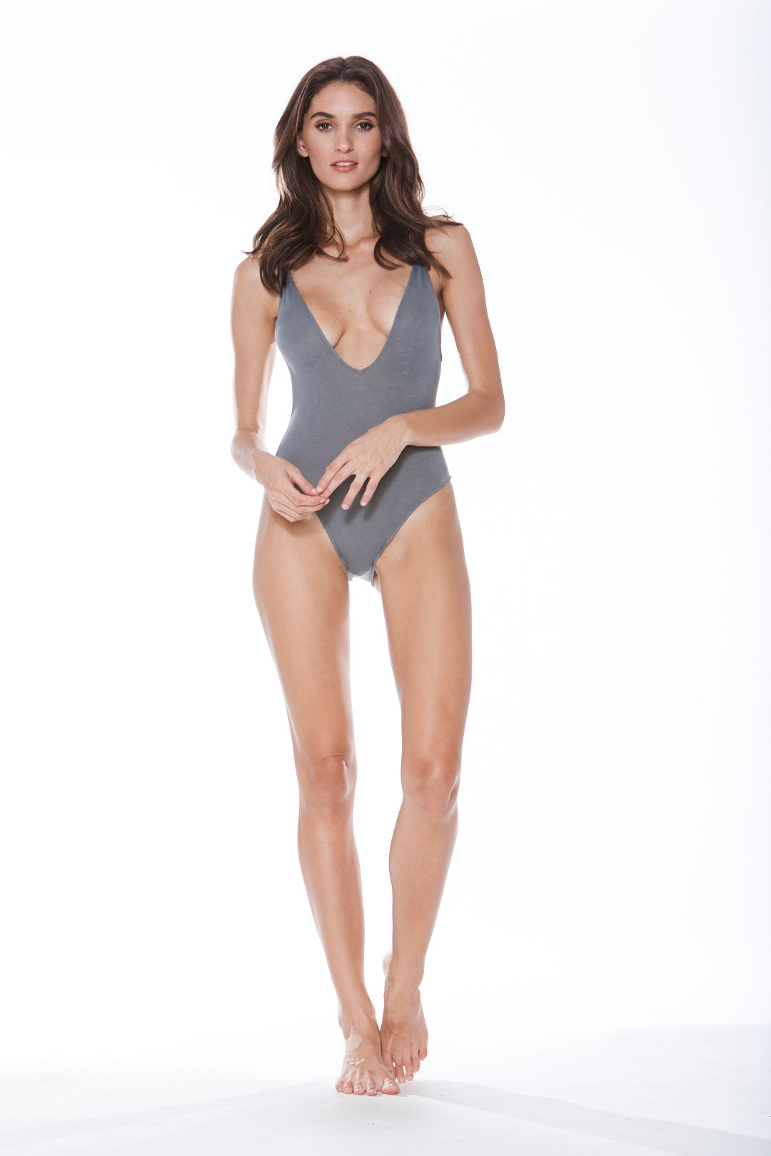 Dave-O Bodysuit - Grey Eastwood