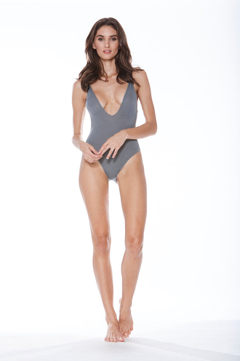 Dave-O Bodysuit - Grey