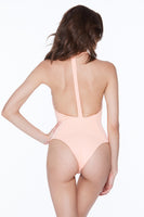 Body Gloved One Piece - Hot Apricot Rib