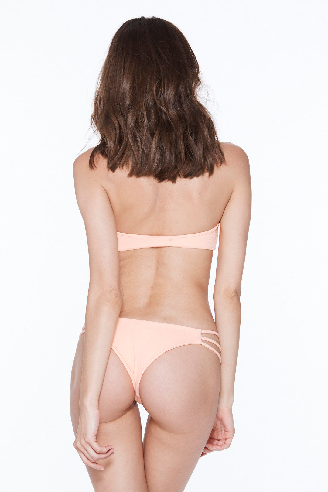 Camilla Bottom - Hot Apricot Rib