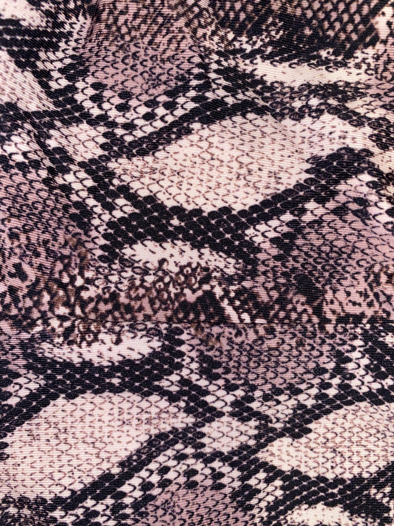 Low Tide Bottom - Snake Print/Ivory