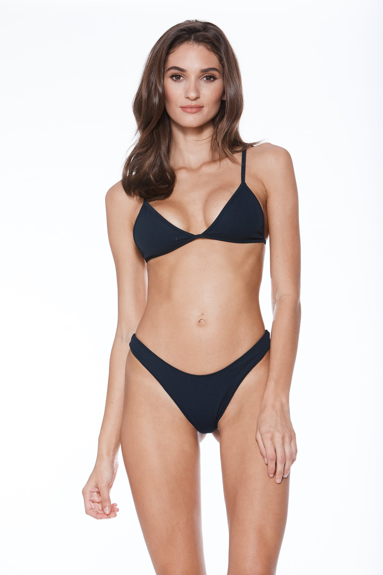 High Tide Bottom - Navy Rib