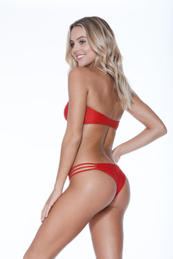 Camilla Bottom - Red