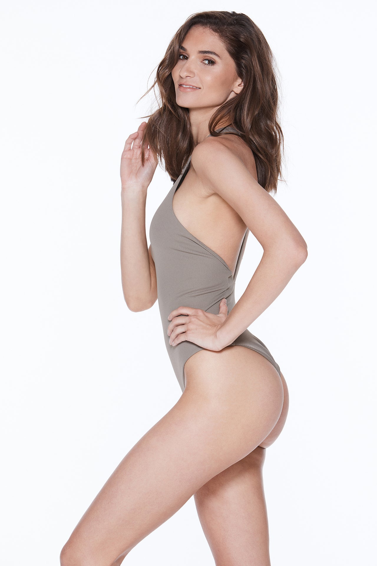 Body Gloved One Piece - Mineral Rib