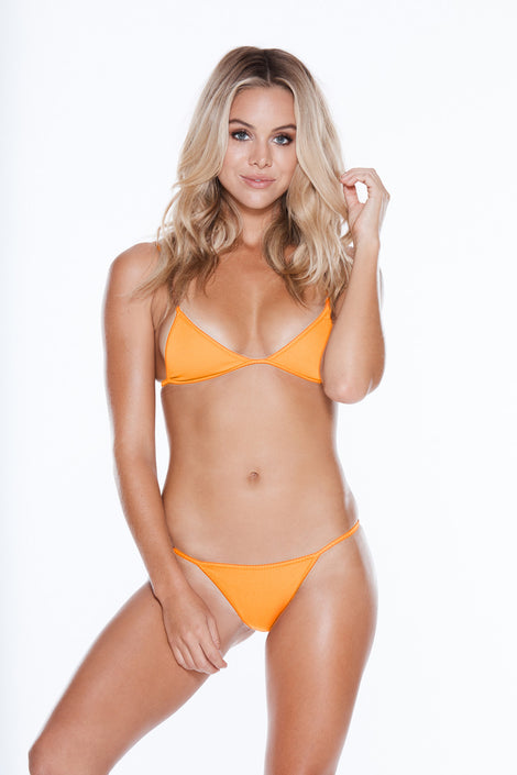 Low Tide Top - Orange Pop Rib