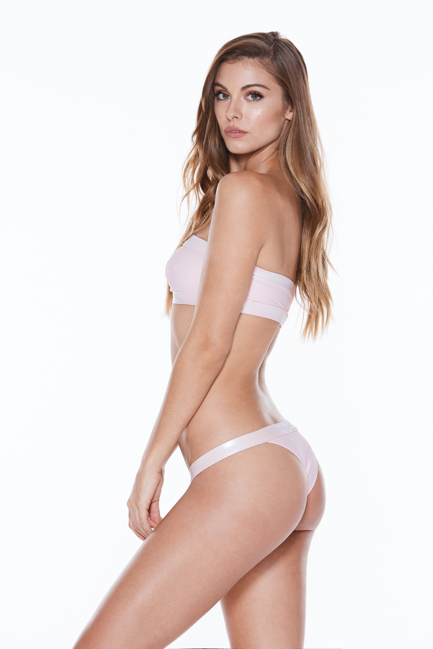 Maria Bottom - White Rib