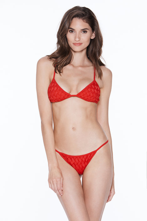 Rosa Top - Red