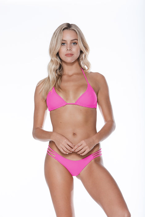 Low Tide Top - Shocking Pink