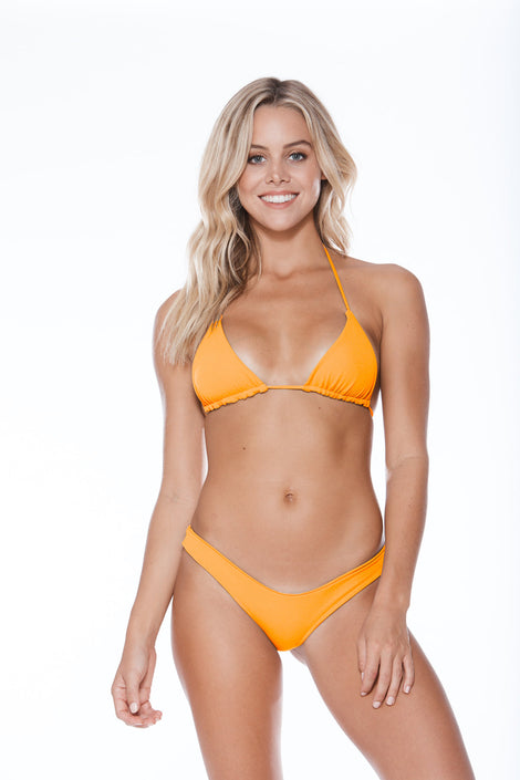 Rosa Top - Orange Pop Rib