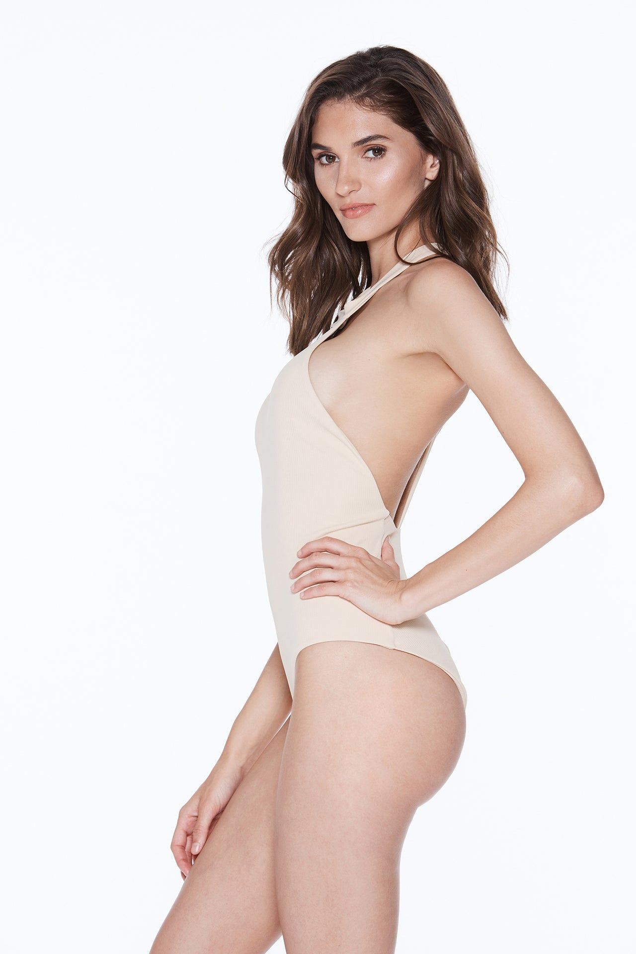 Body Gloved One Piece - Skin Glow Rib