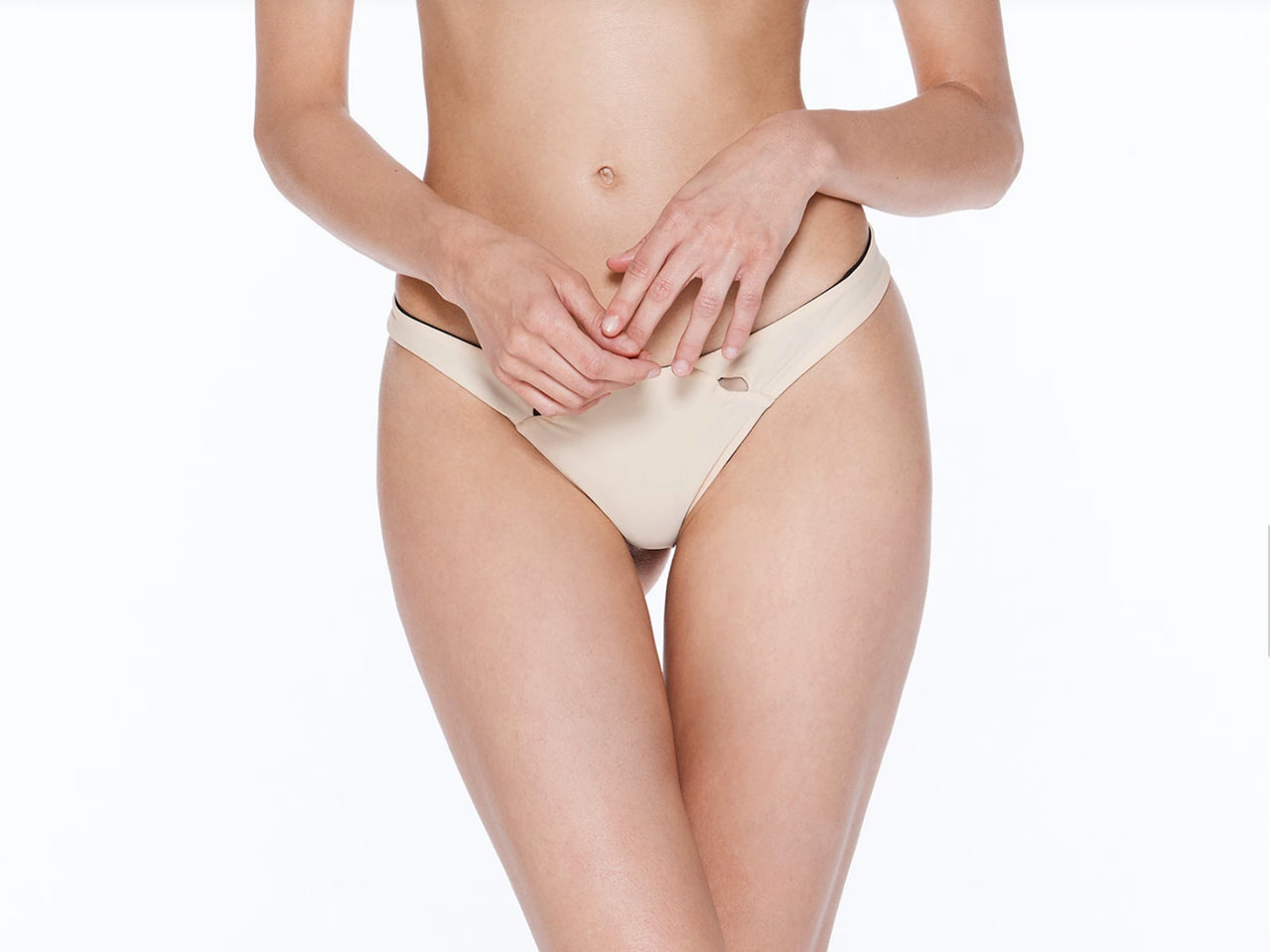 Ace FC Bottom With Holes - Leopard/Nude